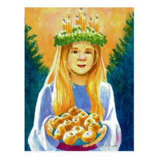 Cartão Postal Santo Lucia
