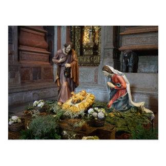 Cartão Postal Santo Mary, Jesus e St Joseph em Jeronimos
