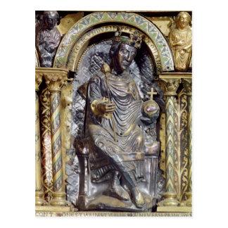 Cartão Postal Santuário do imperador Charlemagne
