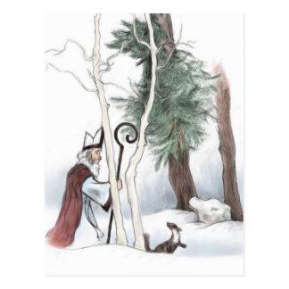 Cartão Postal São Nicolau e o Marten de pinho