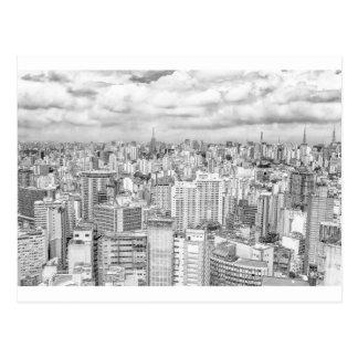 Cartão Postal Sao Paulo, Brasil