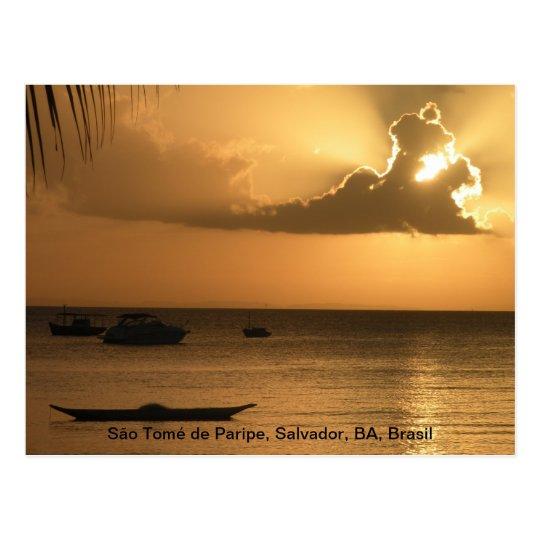Cartão Postal São Tomé de Paripe, Salvador, BA,...