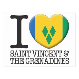 Cartão Postal São Vicente e Granadinas