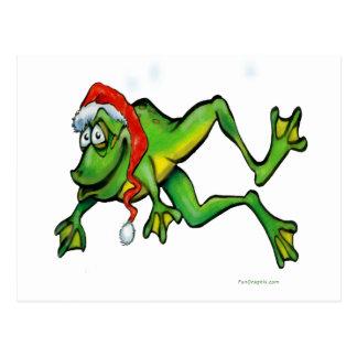 Cartão Postal Sapo do Natal