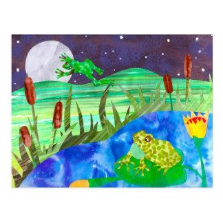 Cartão Postal Sapos das canções da noite