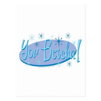 Cartão Postal Sarah Palin você Betcha!