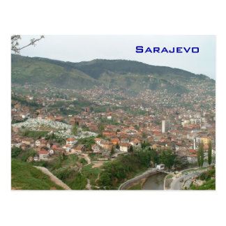 Cartão Postal Sarajevo