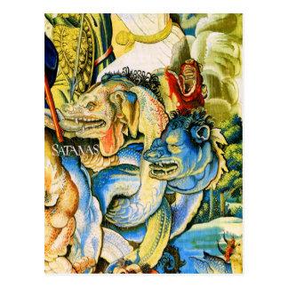 Cartão Postal Satanas (satã), Fino Willem de Pannemaker