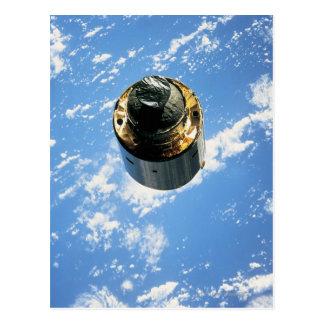 Cartão Postal Satélite na órbita 4