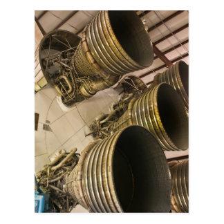 Cartão Postal Saturn V Rocket