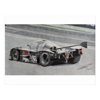 Cartão Postal Sauber 1988 C9 Mercedes