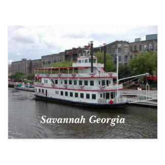 Cartão Postal Savana, beira-rio de Geórgia