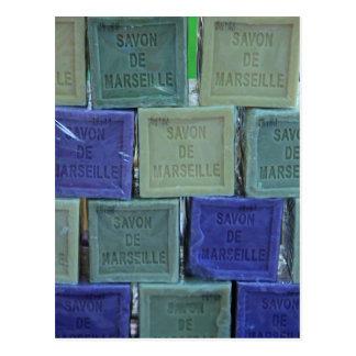 Cartão Postal Savon de Marselha