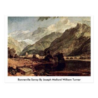 Cartão Postal Savoy de Bonneville por Joseph Mallord William