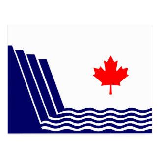 Cartão Postal Scarborough, bandeira de Ontário