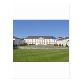 Cartão Postal Schloss Bellevue, Berlim