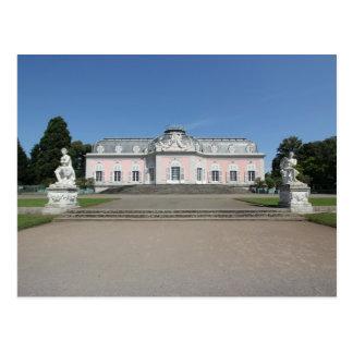 Cartão Postal Schloss Benrath - opinião do Fim-Acima