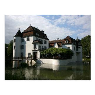 Cartão Postal Schloss Bottmingen, Basileia, suiça