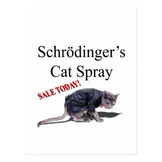 Cartão Postal Schrodingercat