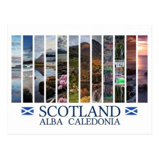 Cartão Postal Scotland - alba - Caledonia