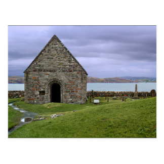 Cartão Postal Scotland (REINO UNIDO) - St Oran' s Chapel Iona