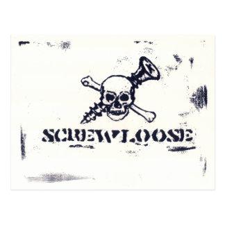 Cartão Postal screwloose