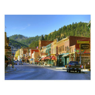 Cartão Postal SD, palha, cidade histórica da mineração do ouro