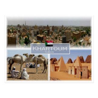 Cartão Postal SD Sudão - Khartoum -