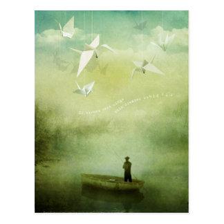 Cartão Postal Se os desejos eram asas (o cartão)