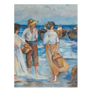 Cartão Postal Seascape