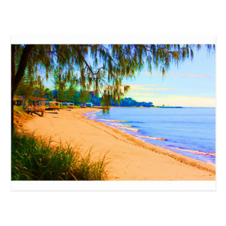 Cartão Postal Seascape de Scarborough