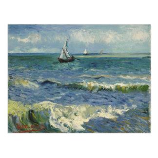Cartão Postal Seascape de Van Gogh em Saintes Maries de la Mer
