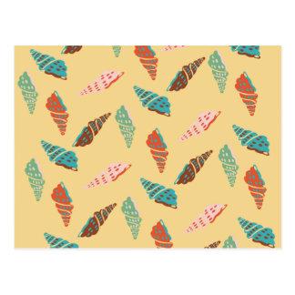 Cartão Postal Seashell