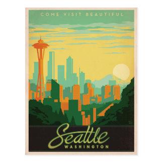 Cartão Postal Seattle, WA