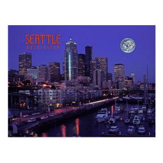 Cartão Postal Seattle, Washington, estado
