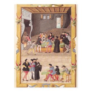 Cartão Postal Secretário dos notários e do rei