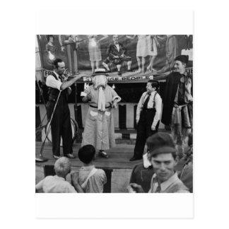 Cartão Postal Secundário no circo: 1942