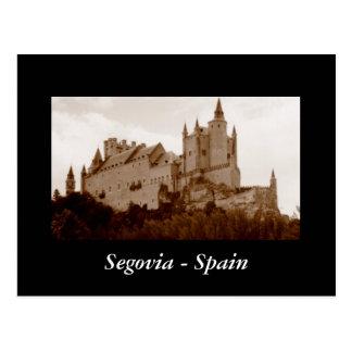 Cartão Postal Segovia