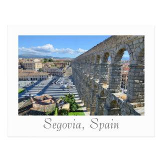Cartão Postal Segovia, espanha