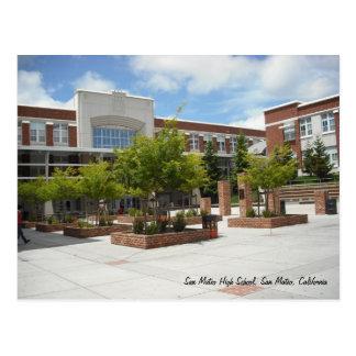 Cartão Postal Segundo grau de San Mateo
