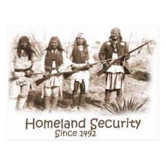 Cartão Postal Segurança interna