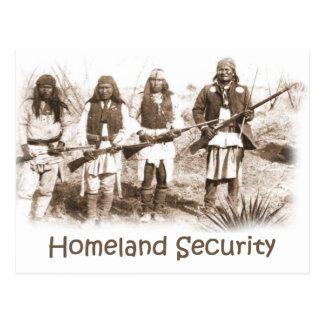 Cartão Postal Segurança interna Apache