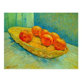 Cartão Postal Seis laranjas por Vincent van Gogh
