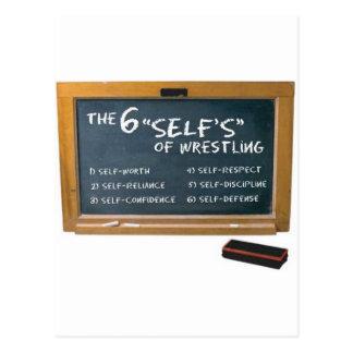 Cartão Postal Seis princípios de luta