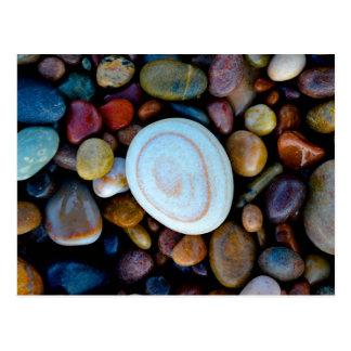 Cartão Postal Seixos (na praia de Findhorn)