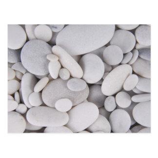 Cartão Postal Seixos, rochas, fundo