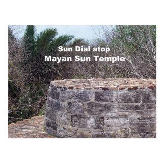 Cartão Postal Seletor maia de Sun