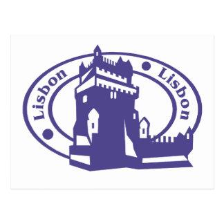 Cartão Postal Selo de Lisboa