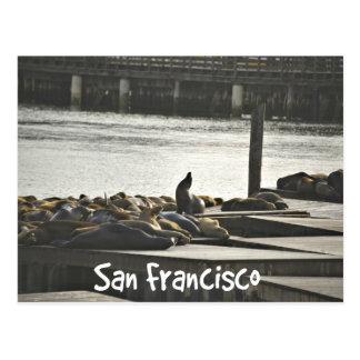 Cartão Postal Selos de San Francisco
