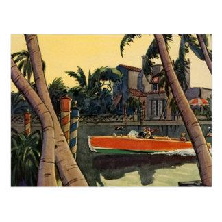 Cartão Postal Selva Edward Wilson do barco da velocidade do